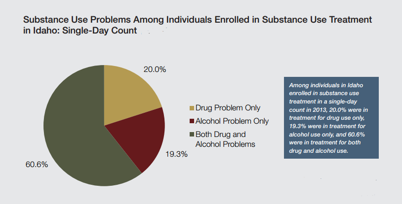 Idaho rehab percentages